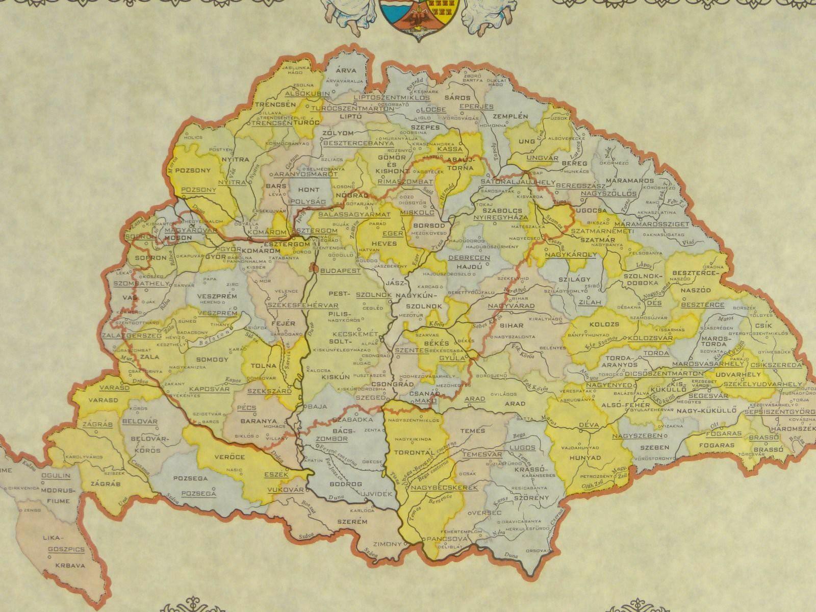 magyarország nagy térkép nagy magyarország – MINDEN SZÓ.hu magyarország nagy térkép